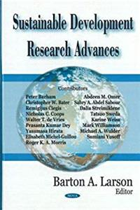 Download Sustainable Development Research Advances fb2