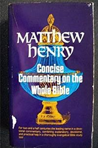 Download Matthew Henry Concise Commentary on the Whole Bible fb2