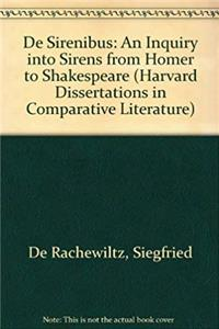 Download DE SIRENIBUS INQ SIERNS (Harvard Dissertations in Comparative Literature) fb2