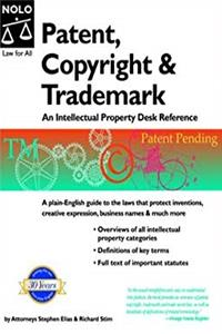 Download Patent, Copyright & Trademark: An Intellectual Property Desk Reference fb2